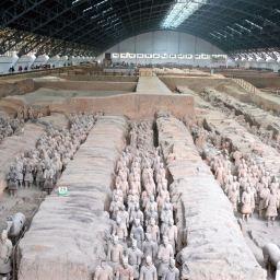 Terracotta Army in Xian April 2014