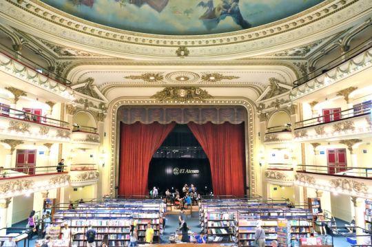 El Ateneo Grand Splendid Bookstore, Argentina