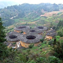 Fujian Tulous Part 2: Tianluokeng, Hegui Lou, Yun Shui Yao, Huaiyuan Lou Dec 2015