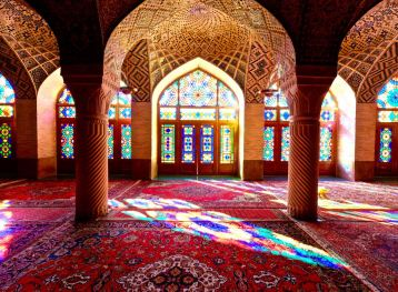 Pink Mosque, Shiraz, Iran