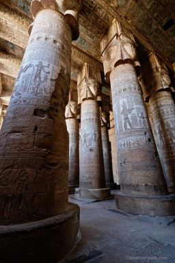 Temple of Hathor at Dendera Dec 2018