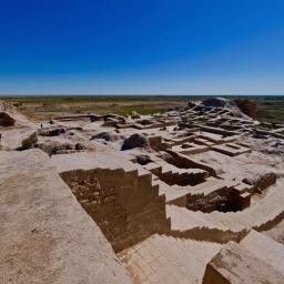 Ruins of Ayazkala & Toprak-Kala Oct 2019