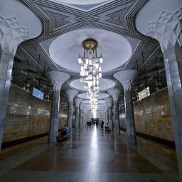 Tashkent Metro, Uzbekistan Oct 2019