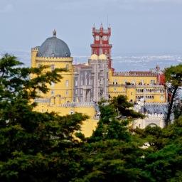 Pena Palace, Sintra Dec 2019