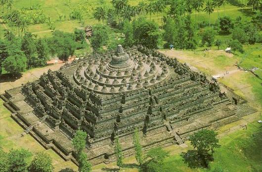 Borobudur_Aerial