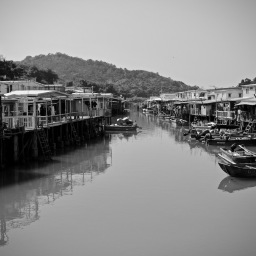 Tai O Fishing Village April 2021