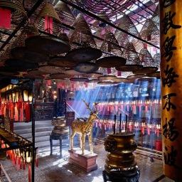 Man Mo Temple of Hong Kong May 2021